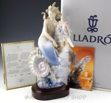 Lladro Figurine Beneath The Waves Seahorse Limited Ed. #1822 Retired Mint Box