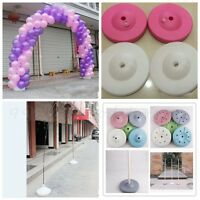 Fournitures de ballon colonne bas Base Stand Display mariage Party Decor
