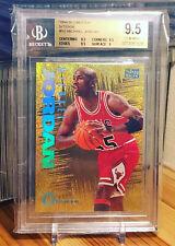 Michael Jordan 1994-95 Skybox Emotion N-tense BGS 9.5 Gem Mint Chicago Bulls HOF