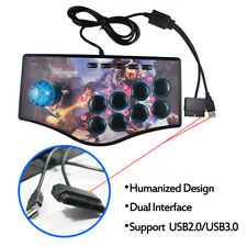 Arcade Joystick Fighting Stick Game Controller Gamepad For USB PC PS3 Android