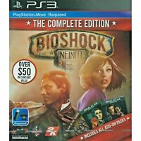 BIOSHOCK INFINITE COMPLETE EDITION PS3 ASIA FULL ENGLISH REGION FREE NEW SEALED