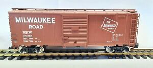 Aristocraft ART-46015 Steel Box Car Milwaukee Road #30365