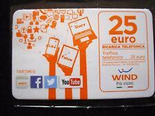 Ricarica scheda WIND 25 euro - da collezione