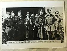 ww2 photo press ,  Resistance , Jean Cavailles 1939   52