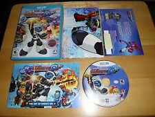 Nintendo Wii U Game: Mighty No. 9 (Complete w/Poster, Artbook, Ray DLC!) Mint!