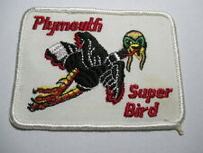 Plymouth Super Bird RARE Vintage Embroidered NOS Patch Richard Petty 43