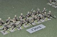 25mm colonial / french - marines 16 figs - inf (17010)