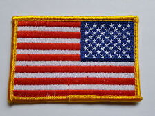 US États-Unis Reversed flag drapeau écusson patch ARMY MILITARY POLICE USAF NAVY NEUF