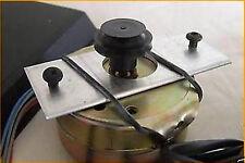 2 x ROUND MOTORE SOSPENSIONE CINGHIE PER REGA PLANAR turnatbles. qualità superiore