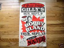 Bobby Blue Bland Globe boxing style poster Najee Dayton