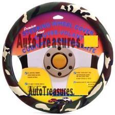 Camouflage Auto Truck Car Steering Wheel Cover Deer Duck Hunter Green Camo NEW