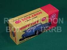 Dinky #142 Jaguar Mk. X - Reproduction Box by DRRB