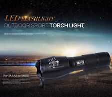 Super Hell 40000LM XML T6 LED Zoom Fokus Taschenlampe Flashlight Torch Lampe