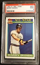 1991 O-PEE-CHEE BARRY BONDS #401 PSA 9 POP 2  SAN FRANCISCO GIANTS (602)