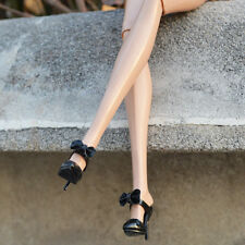 """Sherry Black Sandals shoes for Fashion royalty FR2 Nu Face 2 12"""" poppy parker"""