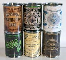 More details for replica vintage retro tin can props display pub bar memorabilia beer whisky