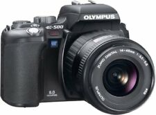 Olympus Digital Single-Lens Reflex Camera E-500 Black Lens Set