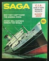 SAGA Magazine - October1960 - Pulp / Adventure / Men's Interest