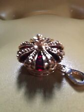 Juicy Couture Red Stone Crown Charm HTF Rare