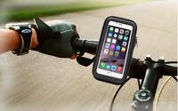 "MTB Bicycle Motor Bike Waterproof Phone Case Mount Holder For All Mobiles 4.7"""