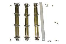 """Conversión/Kit De Reparación Para A4 4D30mm carpeta de anillo """"D 'Forma Anillo A4 4D30"""