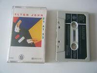 ELTON JOHN 21 AT 33 CASSETTE TAPE 1980 PAPER LABEL THE ROCKET RECORD COMPANY UK