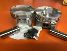 CHEVY FORGED PISTONS LUNATI 4.030 REVERSE DOME 9.1 STREET STRIP CIRCLE TRACK