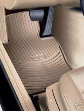 2 BMW Beige Rubber Floor Mats E46 323 325 328 330 5041