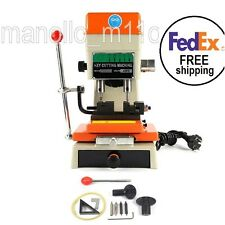 NEW Key Duplicating Machine Automatic Cutting & Full Set Cutters Locksmith 368A