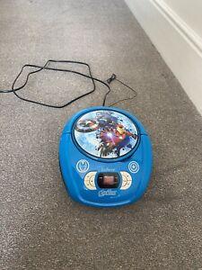Lexibook Marvel The Avengers Iron Man CD Player - Blue