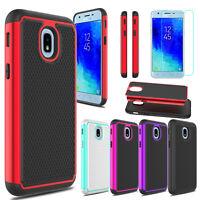 For Samsung Galaxy J3 Star/Orbit/Achieve/Prime 3/Aura Hard Case+Screen Protector