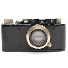Leica II Film Rangefinder Camera Body (Black) with 5cm f2 Summar Lens