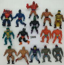 HE MAN MASTERS OF THE UNIVERSE MAITRES DE L'UNIVERS 15 Figurines VINTAGE