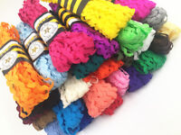 15Yards/Lot 5mm wide S edge waves Lace ribbon garment accessories baby lace Trim