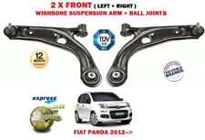für Fiat Panda 2012- > NEU 2 x vorderen unteren Querlenker + Kugelgelenke