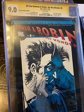 ALL-STAR BATMAN & ROBIN #8 Retailers incentive edition CGC 9..0 SS By JIM LEE!