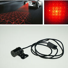 RED Hyun video Anti Pileup Rear Tail Fog Driving Laser Caution Light For Benz