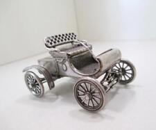 2.25 Ounce RARE Vintage Solid Sterling Silver Car Figurine, Stamped