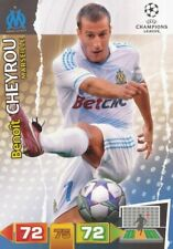 CHEYROU FRANCE OLYMPIQUE MARSEILLE CARD ADRENALYN CHAMPIONS LEAGUE 2012 PANINI
