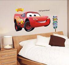 Lightning McQueen Racing Cars Wall Sticker Decal Kids Boy Room Decor Vinyl Mural