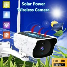 Wireless 1080P Solar Energy WiFi IP Camera CCTV Outdoor HD Security Surveillance