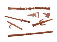 Teenage Mutant Ninja Turtles TMNT Weapons Sword Sai Staff Nunchucks Accessories