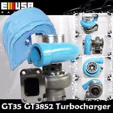 EMUSA BLUE GT35 GT3582 TURBO+ MESH BLANKET T3 AR.70/82 ANTI-SURGE COMPRESSOR