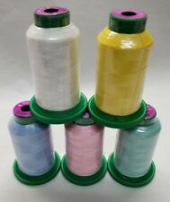 Baby Kit -5 pack of Isacord Embroidery Thread  - (New in wrapper)