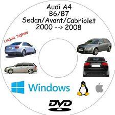 Manuale Officina AUDI A4 (B6/B7) - Assistenza, Riparazione e Manutenzione
