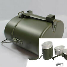 Army Soldier Canteen Kettle Pot Military Mess Kit Lunch Box Food Cup Bowl Set