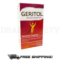 Geritol Multivitamin Nutrition Support Tablets 100 Tablets Count NEW