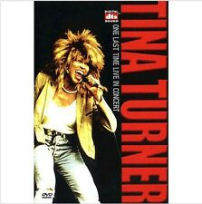 Tina Turner DVD (Sealed) - One last time live in CONCERT