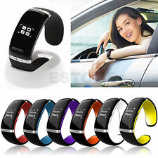Bluetooth Wrist SMART Bracelet Watch Phone For IOS Android Samsung iPhone LOT WF