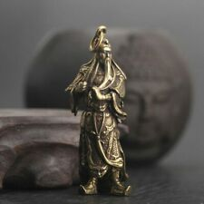 Copper Guan Gong Small Statue Ornaments Home Decoration Accesories Chinese decor